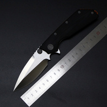 Hight Quality D2 Folding Blade Knives G10 Handle D2 Blade Microtech DOC Camping Tactical Hunting Survival Outdoor Knife EDC TOOL