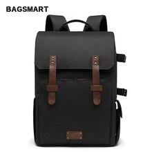 BAGSMART Multifunctional Camera Backpack for SLR/DSLR Cameras 15.6
