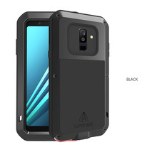 Gorilla Glass Screen Case For Samsung Galaxy A8 A6 Plus A8plus 2018 Shockproof Full Body Protect Armor For Samsung A8 2018 Case стоимость