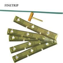 FINETRIP 25% 5x Bảng Điều Khiển LCD Điểm Ảnh Chết Cụm Sửa Chữa Ribbon Cable cho BMW E39 Speedometer E38 E53 X5/1 T Mẹo Cao Su dải