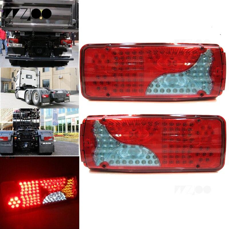 New 24v Led Marker Light Truck Trailer For Mercedes Man Volvo Man Scania Iveco