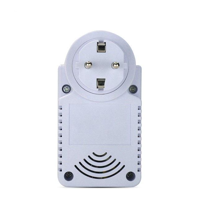 GSM Power Plug Socket With Temperature Sensor Intelligent Temperature Control Socket SMS Remote Control GSM Switch