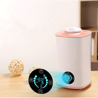 Humidifier Touch And Remote Control LED Display Ultrasonic Cool With Filter Humidity Mist Control Timing Water