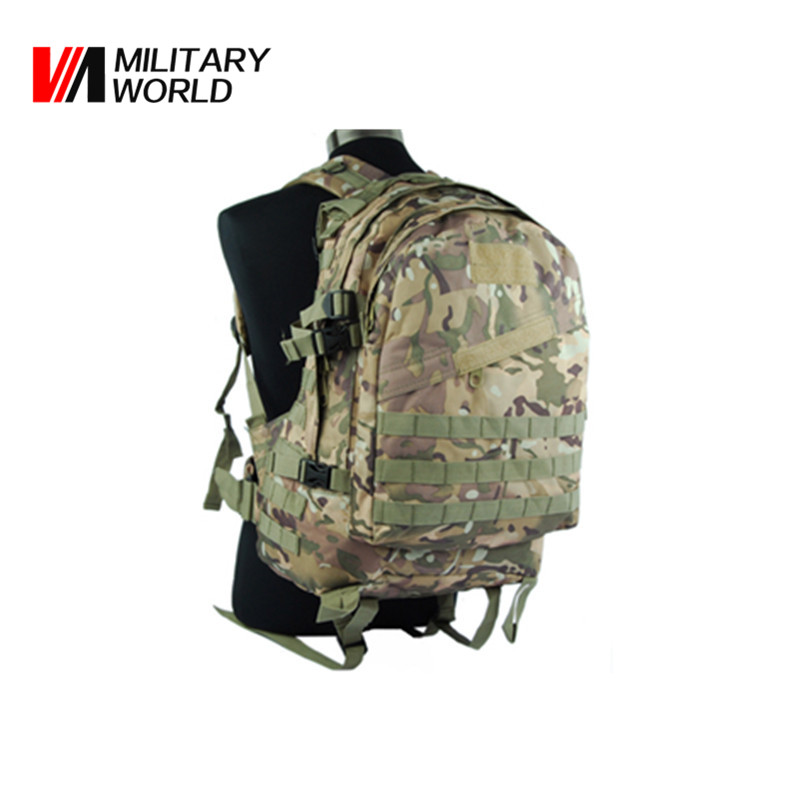 Army Military Tactical Molle Backpack Outdoor Sport Camouflage Hunting Bags for Men Cmaping Shoulder Bag Hiking Pack