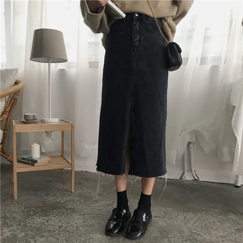 Cheap Wholesale 2018 New Summer  Hot Selling Women's Fashion Casual  Sexy Denim Skirt L20 2