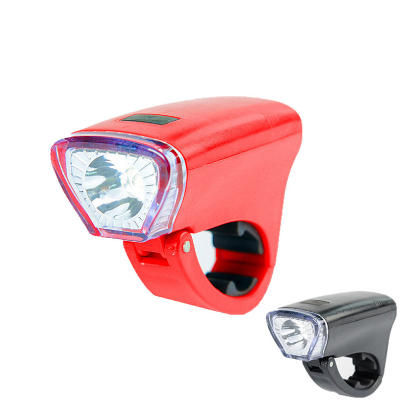 5-M new Black/red Flashlight On a Bicycle Light Front Lamp Headlight For Road Bike Accessories free shipping