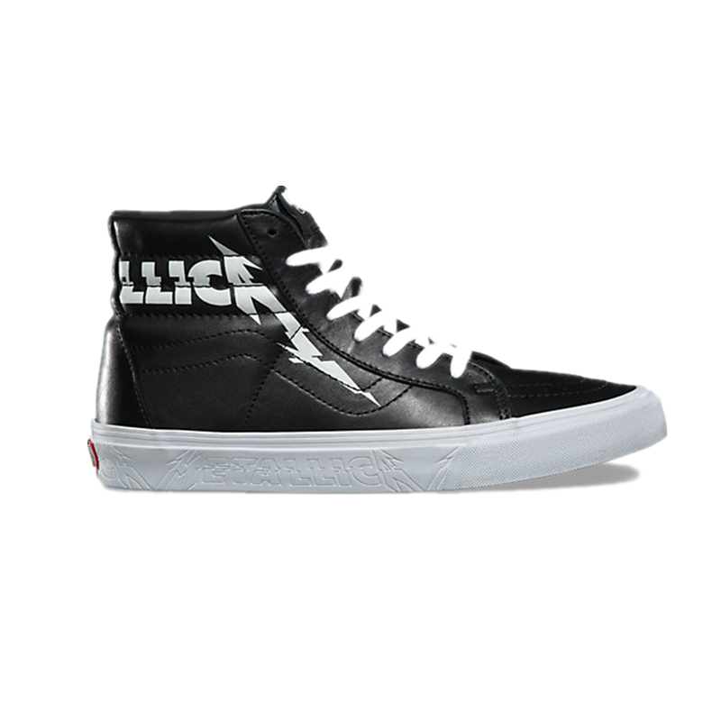 Original New Arrival Vans X METALLICA Men s Classic Sk8 Hi Skateboarding  Shoes Sneakers Canvas Comfortable VN0A2XSBPZJ-in Skateboarding from Sports  ... f30e306b2fa2