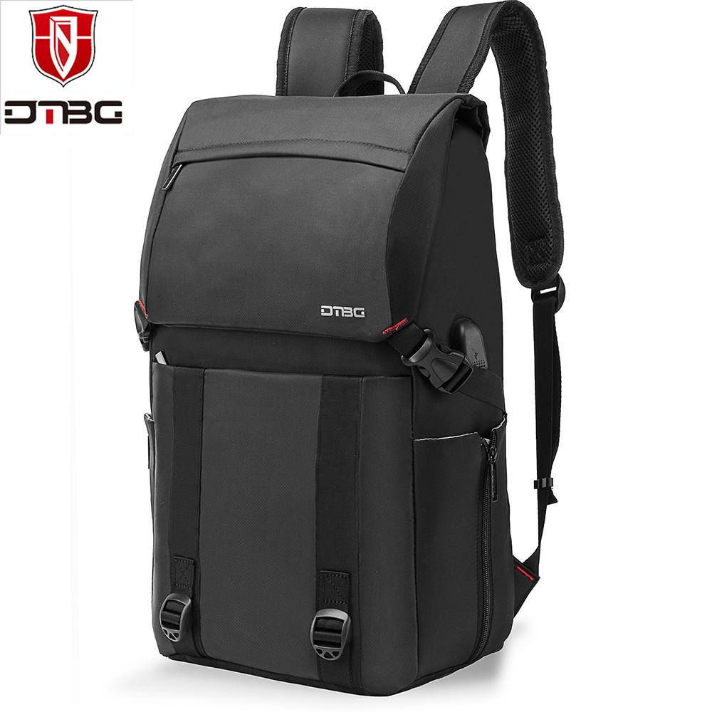 DTBG 17.3 Inch Laptop Backpack Large Capacity Men Women Travel Casual notebook Backpacks With USB Port School Bag For Teenager все цены