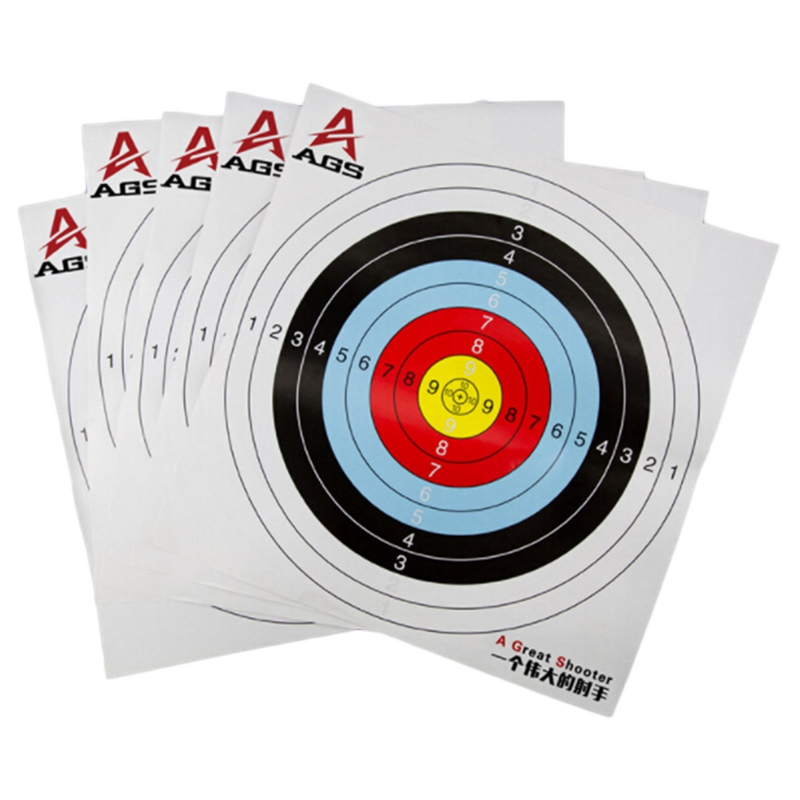 1pcs Archery Target Paper 41cm/16 Reinforced Waterproof Shooting Paper Hunting Archery Accessories Arrow Recurve Compound bow