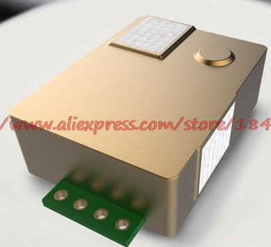 Free Shipping MH Z19 CO2 Carbon Dioxide Gas Sensor Serial Output 5000ppm Non Dispersive Infrared