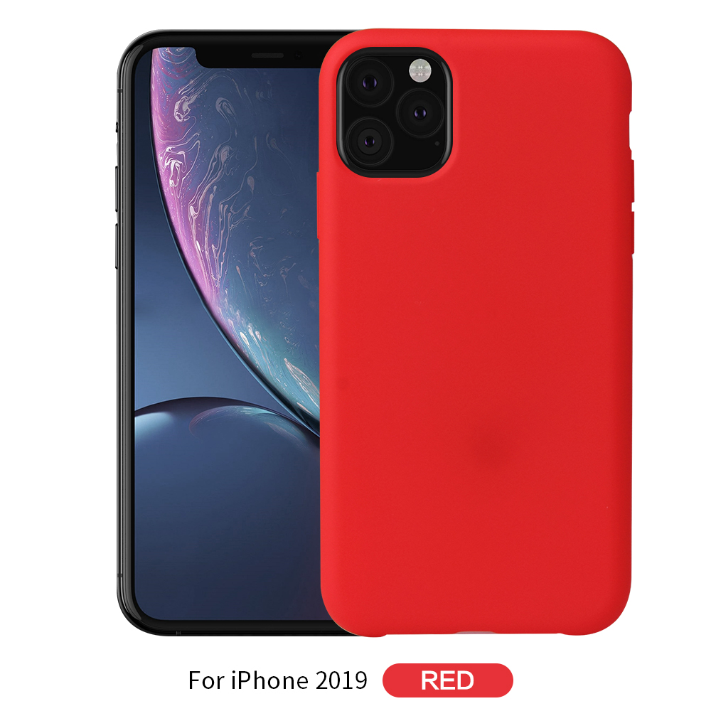 Jolie Liquid Silicone Case for iPhone 11/11 Pro/11 Pro Max 8