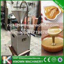 KN-C60 тончайший Точильщик коллоидная мельница для измельчения соусом чили, арахисовое масло, кунжутное паста с 304 нержавеющая сталь