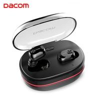 DACOM K6H TWS Handsfree Air Earpiece Mini Headset HiFi Stereo Bluetooth Earbuds Buds Wireless Earphone Headphone