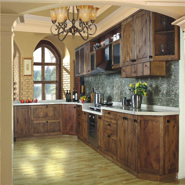 Made In China Solid Wood Kitchen Cabinet