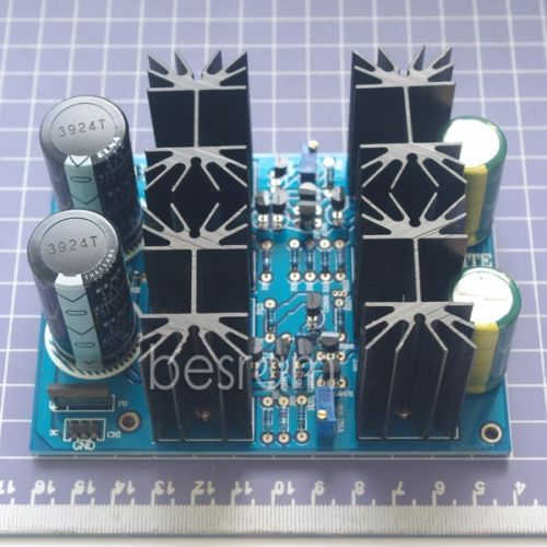 LITE A09 Classe Un Shunt régulateur carte d'alimentation +/-7V ~ +/-70 V adjustable100-400mA
