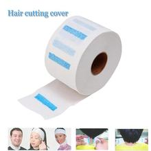 1Pc Neck Ruffle Roll Paper Pro Hair Cutting Salon Disposable Hairdressing Hair Dye Tool Collar Accessory Necks Covering Y05