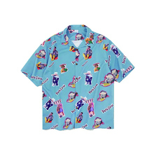 HFNF hip hop streetwear men Hawaiian Printed Floral summer floral rapper beach shirts for Youth Harajuku Leisure