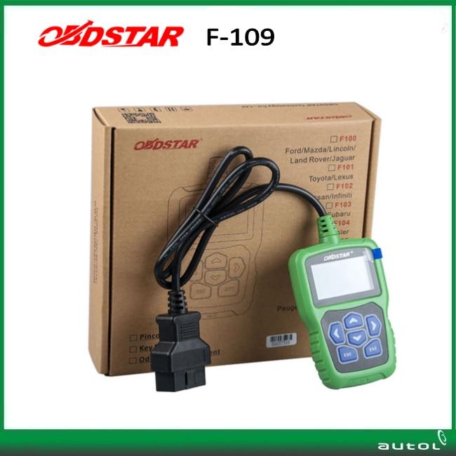 obdstar f109 for suzuki pin code calculator with immobiliser key