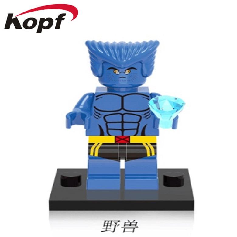50Pcs XH 364 Building Blocks Super Heroes Beast Black Bolt Doctor Strange Bricks Action Best Collection Toys Gift For Children