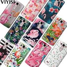 VIYISI For LG G6 Q6 G4 G5 Phone Case Coque X Power2 Q8 K7 K8 K10 2017 Flamingo Flower Fundas Etui Soft Silicone Back Carcasas