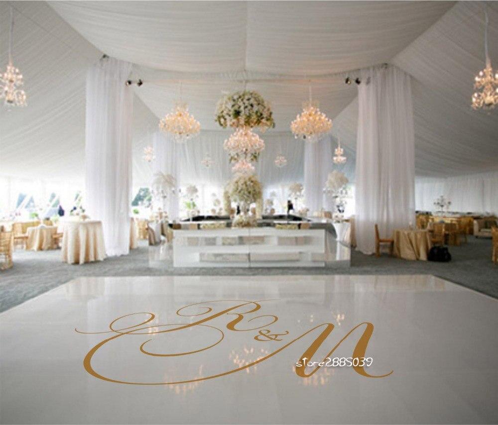 Casamento festa de dança piso adesivos removível