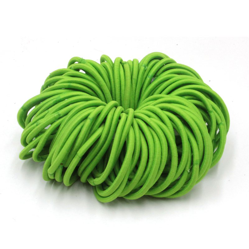 100pcs/lot NEW Rope Elastic Hair Ties 4mm Thick Hairbands Girls Hair Bands,Hair Accessories, Headwear