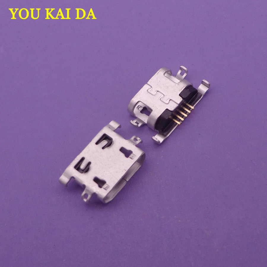 100 pcs/lot Untuk Lenovo A360t K6 Catatan Untuk ZOPO ZP1000 Mini micro USB Pengisian Port Konektor Plug Jack Socket Dock