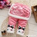1-4Y varejo 2016 New Girl Legging Saia-calças Do Bebê do Inverno Da Menina Quente Leggings Meninas das Crianças Arco-nó Calças saia 9160502