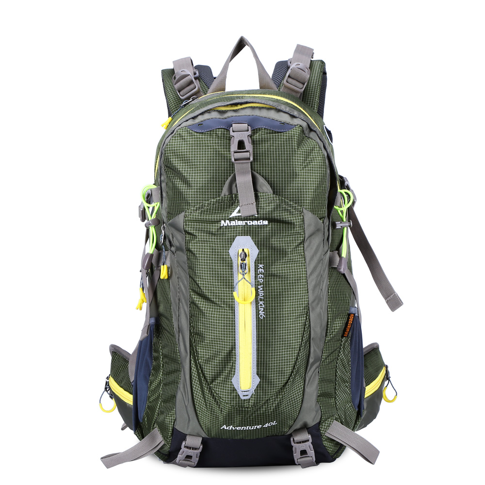 Maleroads 40л водостойкий нейлоновый открытый спортивная сумка походный рюкзак сумки спортивный рюкзак велосипедный рюкзак сумка