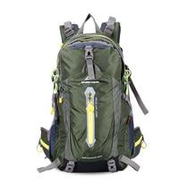 Maleroads 40L Water Resistant Nylon Outdoor Bag Hiking Camping Backpack Bags Sports Backpack Bike Rucksack Bag