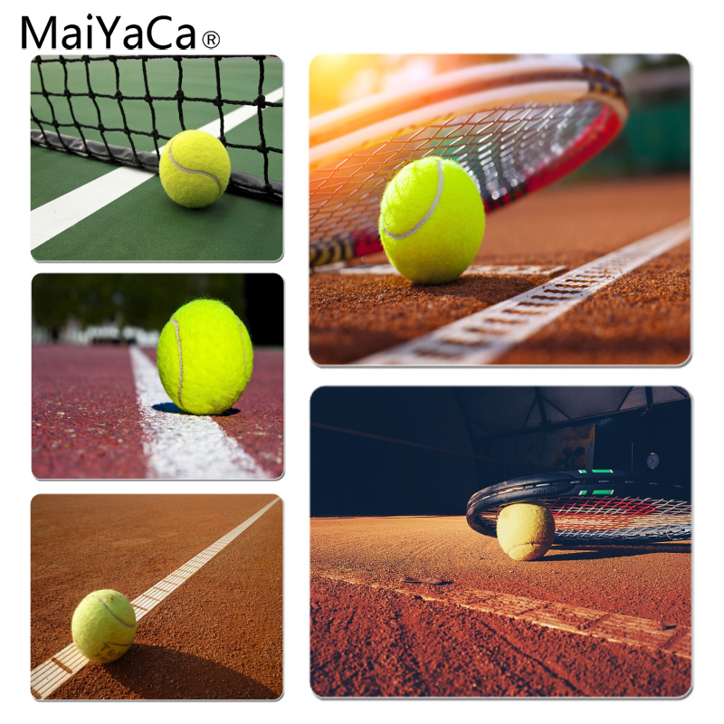 MaiYaCa Tennis Ball Large Mouse pad PC Computer mat Size for 25X29cm Gaming Mousepads