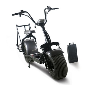 E-Scooter City Coco 2 Wheels Electric Motorcycle 1000W Adult Electric Golf Scooter Citycoco Off Road Electric Motorcycle