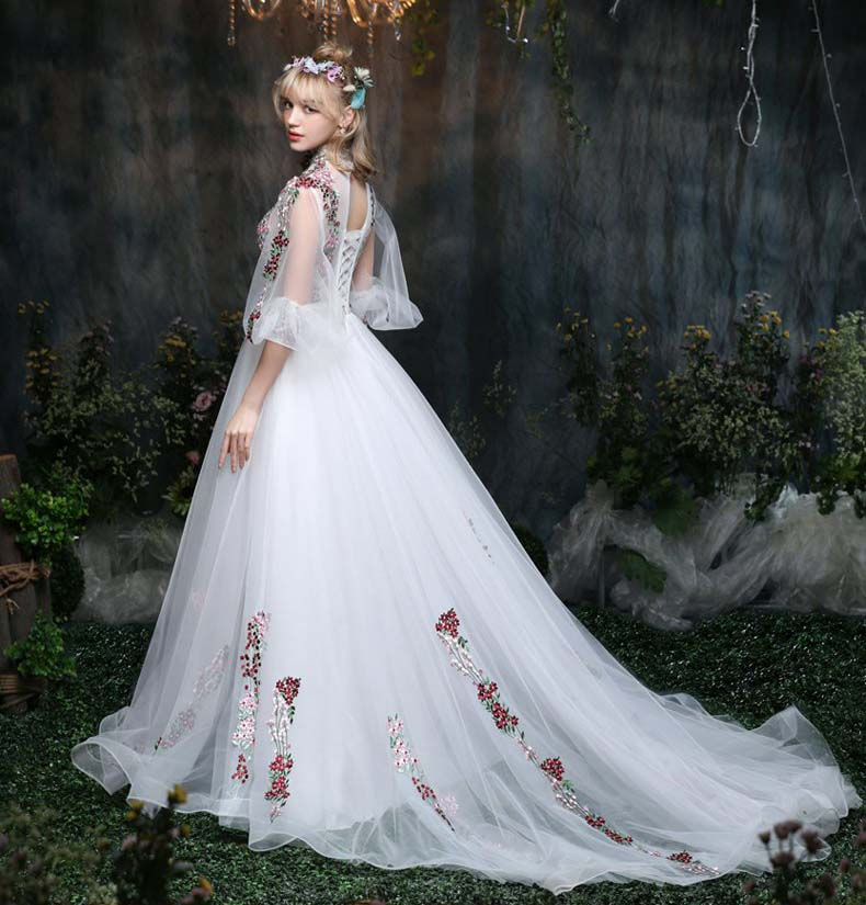 100real rococo berry forest queenprincess victorian gown