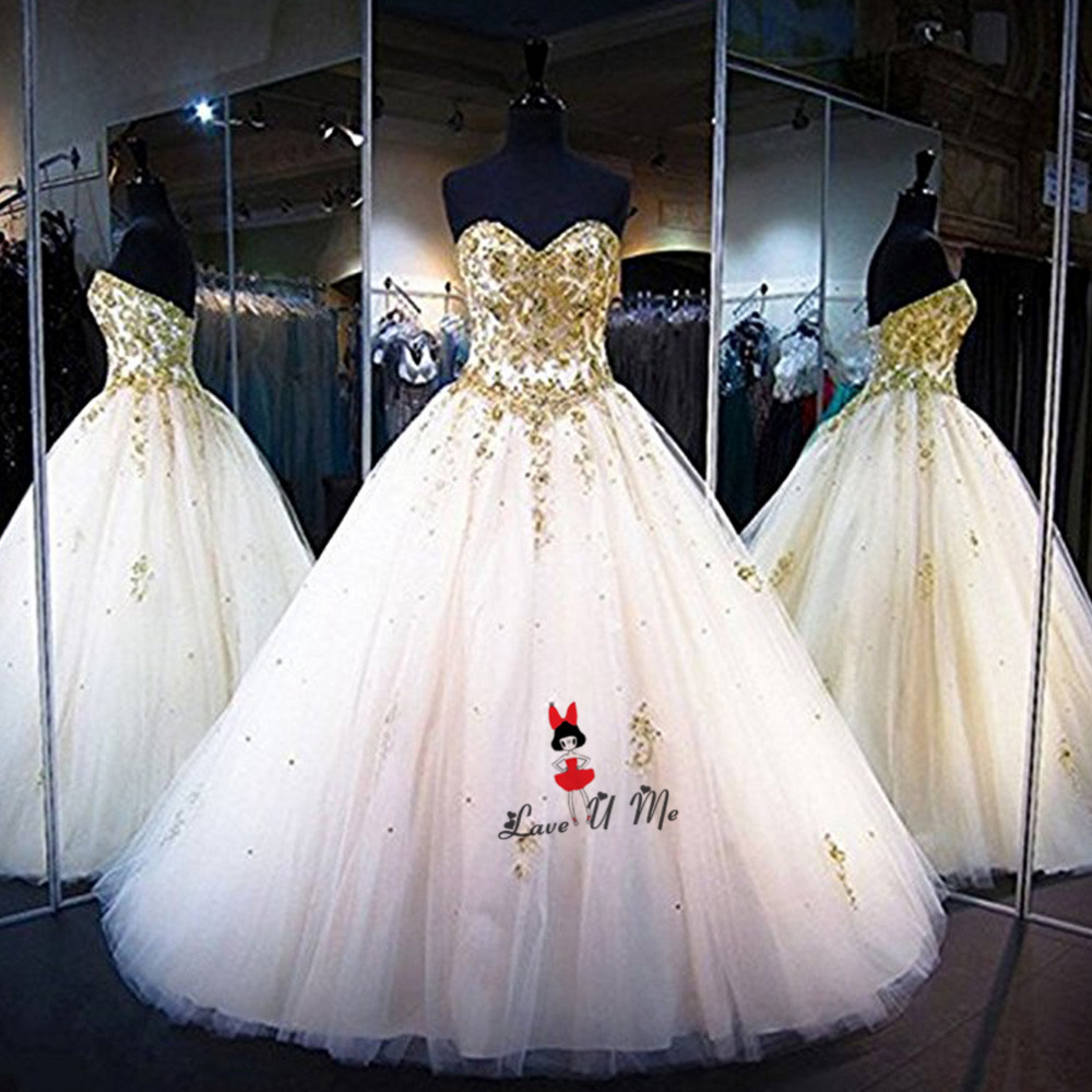 US $148.0 20% OFF|Gold Lace Applique Gothic Wedding Dress Beads China  Bridal Dresses 2018 Plus Size Custom Made Wedding Gowns Abito Da Sposa-in  ...