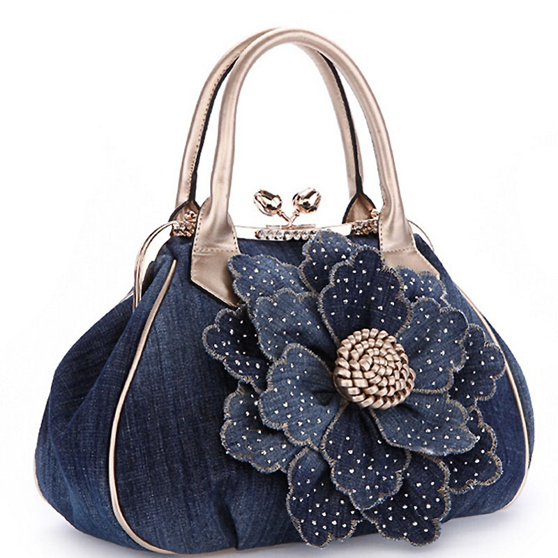 Women Handbag Vintage large Big Flower Women's Tote Women Messenger Bags Ladies Purse Shoulder Bag Bolsas elegance women handbag shoulder bag large tote ladies purse fashion hot new dropshipping