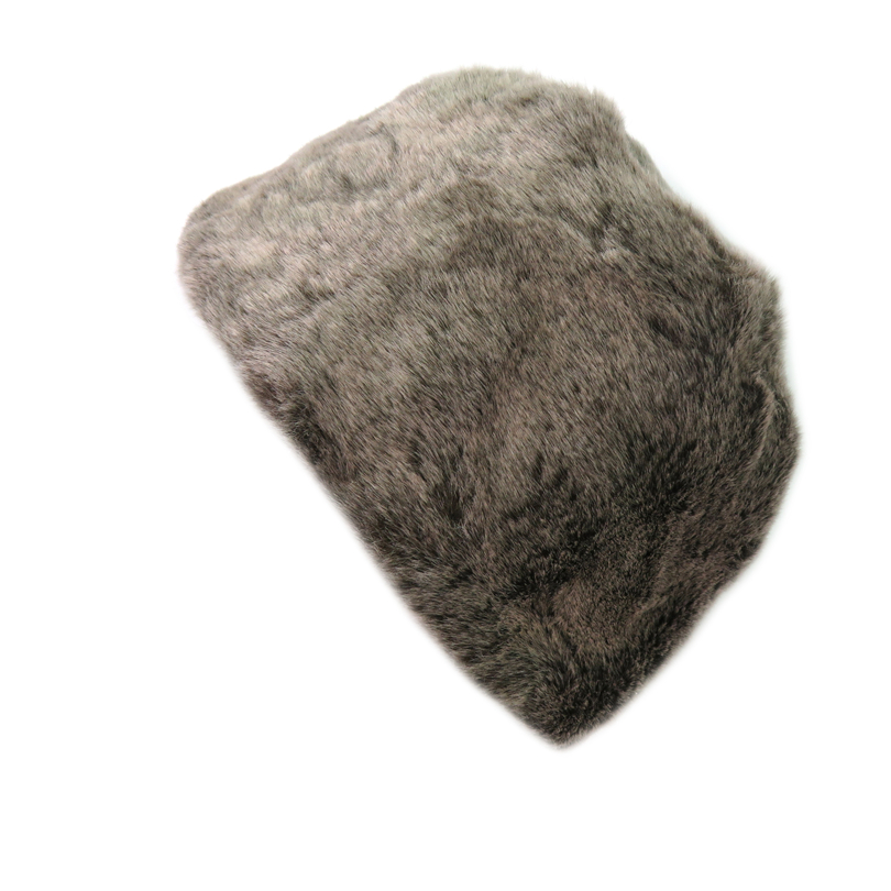 Faux Rex Fur Cap Women Hat Winter Warm Fake Fur Caps Brown Solid Warmer Headwear Female Fur Hat Russian Headgear Beanies Gorros stm32 ds1302 6pf 10ppm 32 768k 32 768khz