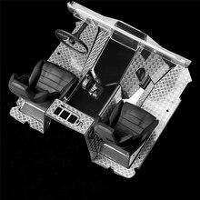 Parti interne dellautomobile di RC per il cruscotto del metallo dellautomobile rampicante dello spettro e la piastra di protezione protettiva del pavimento per AXIAL WRAITH 90018 90020