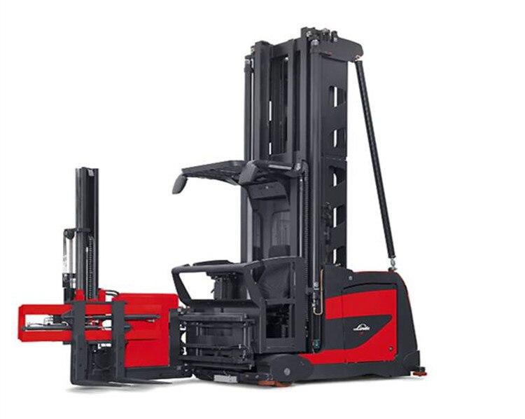 Linde Новый 1,5 т Электрический вилочный погрузчик 011 серии K Электрический модульный очень узкий проход (вна) двойного назначения combi грузовик ...