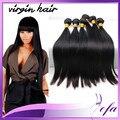 34 36 40 дюймов 6а норки перуанские прямые переплетения дешево человеческие волосы 3 bundle предложения наращивание волос перуанский прямые волосы
