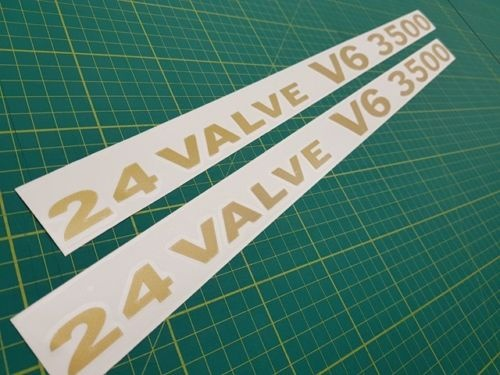 For 1Set Mitsubishi Pajero Shogun montero GLS 24 Valve V6 3500 decals stickers V20 MK2 NJ 60cm wide Mitsubishi Pajero