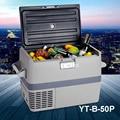 Мини автомобиль Грузовик Холодильник 49л большой компрессор лодка емкость RV холодильник морозильник PP + PE YT-B-50P Smad DC 12-24 V
