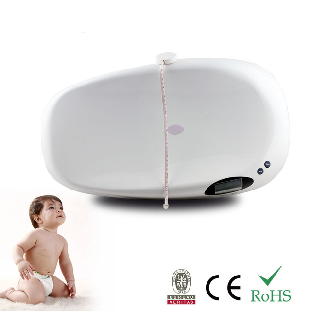 Hot 20kg all-plastic ABS baby scale baby baby health scale growth scale 4*1.5V  AAA battery With music function