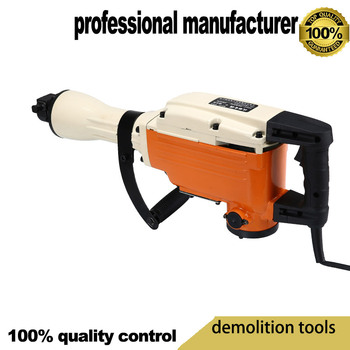2800w demolition hammer  65A  stone brake tool 1800rpm rock brick tool at good price and fast deliery demolition breaker tool electrical breaker hammer for wall brake for cement broken at good price