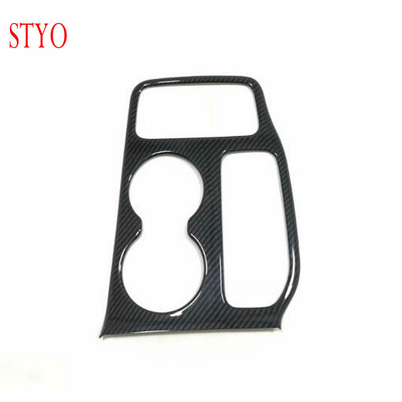 STYO for 2014 2019 Jeep Grand Cherokee ABS Chrome Inner Water Cup Holder Panel cover trim