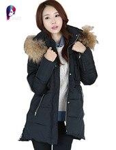 New Style Winter Jacket Women Hot Sell Coats Long Section Cotton Women's Jackets Fashion Plus SIze