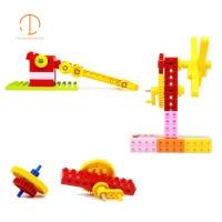 10in1 gears toys Legoed technic parts DIY Educational toys bricks Enligthen big Building blocks compatible with legoed