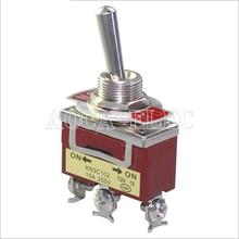 цена на 20PCS KN3C-102 ON ON Medium Toggle Switch 12.2MM 15A 250VAC 3Pin Single Pole Screw Terminal