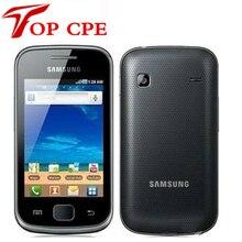 """S5660 оригинальный samsung galaxy gio s5660 мобильный телефон 3 г wifi gps android os 3.2 """"сенсорный Экран восстановленное телефон Груза падения"""
