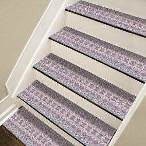 Image 5 - Autocollants descalier de Style bohémien