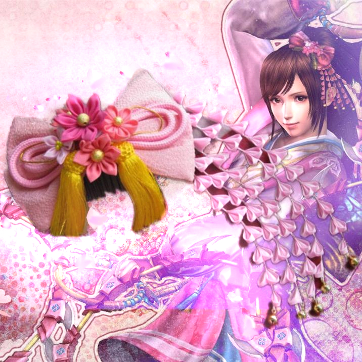 Sengoku Musou Oichi Japanese Traditional Style Kimono